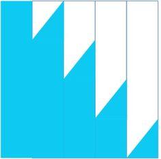 colour buzz saw quilt block