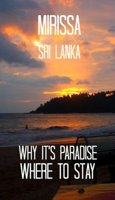 Mirissa Beach Sri Lanka. Paradise Found