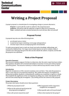 How To Write A Proposal  Template  Homeless Care Package