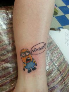 minion tattoos on Pinterest | Minion Tattoo, Minions and Despicable Me