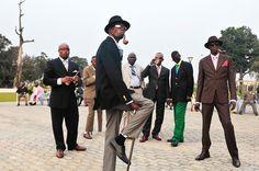 世界一見栄っ張り?コンゴのおしゃれ集団『サプール』って何者?   RETRIP[リトリップ]