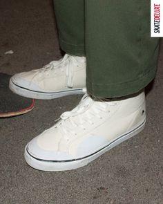 Get the Emerica Omen Hi Winkowski with ollie pad and toe cap reinforcements Skate Shoe Brands, Skate Shoes, New Skate, Shoe Releases, Converse, Vans, Nike Sb, Skateboard, Toe
