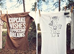 Love these awesome shirts from Dressing on the Side T-Shirts http://www.dressingonthesidetshirts.com/