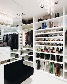 LA Closet's Lisa Adam's closet creation on her website.
