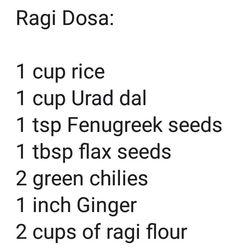 Ragi Recipes, Diet Recipes, Snack Recipes, Indian Snacks, Indian Food Recipes, Kerala Recipes, Best Diet Foods, Healthy Foods, Ragi Dosa