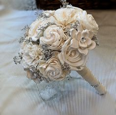 The most important advantage of handmade wedding bouquets is that these bouquets are long lasting. Description from handmade4art.com. I searched for this on bing.com/images