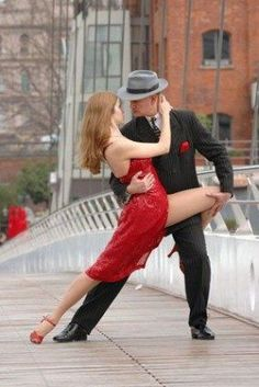 Doing the Argentine Tango - the dance of the heart.