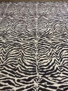 Wild Zebra  Nylon  www.colonyrug.com
