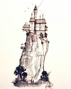 #inktober #sketch #ink #drawing #architecture #art #illustration
