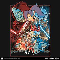 Future wars T-Shirt - Futurama T-Shirt is $11 today at Ript!