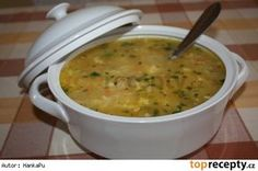 Polévka tety Janky Czech Recipes, Ethnic Recipes, Homemade Perfume, Cheeseburger Chowder, Stew, Food And Drink, Drinks, Health, Soups