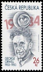 George Orwell: http://d-b-z.de/web/2013/06/25/ueberwachungsstaat-george-orwell-1984-briefmarken/