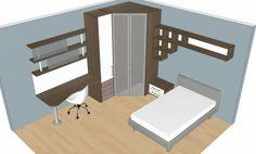 BADROOM - centri camerette specializzati in camere e camerette per ragazzi - Cameretta con letto imbottito
