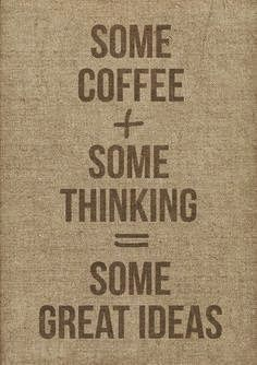 """"""" Is coffee essential to great ideas? Maybe... on Mondays ;-) """"  Search - Google+"""