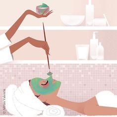 #illustration #spa #beauty