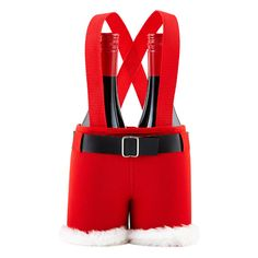 Two bottles are better than one! Our Santa's Pants 2-Bottle Carrier is the perfect hostess gift!