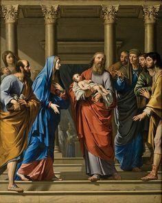 Philippe de Champaigne, The Presentation to The Temple