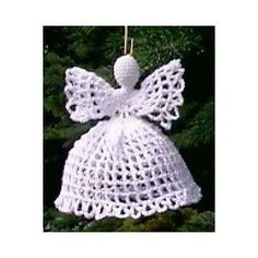 Image of Filet Angel Ornament - FREE PATTERN - http://www.jpfun.com/patterns/angels/p104005_filetorn.html