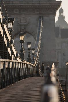 """The iconic """"Chain Bridge"""" is just one of the 12 distinctive bridges that cross the Danube River in Budapest, making Its cityscape one of the most magical in the world."""