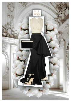 Sin título #451 by angstylist on Polyvore featuring polyvore, fashion, style, Emilia Wickstead, Lanvin, René Caovilla, Charlotte Olympia, Diego Percossi Papi and New Growth Designs