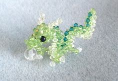 beading dragons | Beaded Dragon [Wanco Beads]