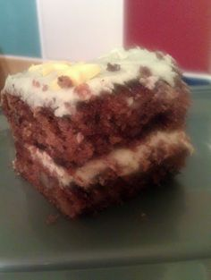 "Vickys 12"" Carrot & Walnut Cake, Gluten, Dairy, Egg & Soy Free! 5.00 stars, 3 reviews. ""Please try, it's gorgeous!"" @allthecooks #recipe #cake #dessert #carrot #vegan #gluten-free"