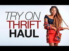 try on thrift haul - YouTube