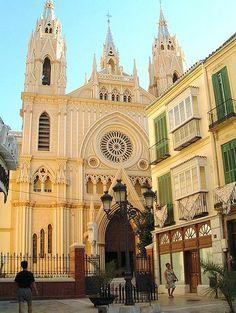 Iglesia del Sagrado Corazón, Malaga, Spain.