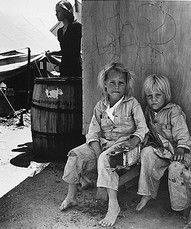children of young migratory parents | california 1930s | foto: dorothea lange