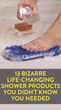 13 Bizarre Life-Changing Shower Products You Didn't Know You Needed