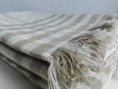 Natural Linen Bath Towels Face Towels Natural by Linenstars