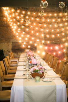 Modern Rustic Loft Wedding Reception | photography by http://www.firstcomeslovephoto.com/