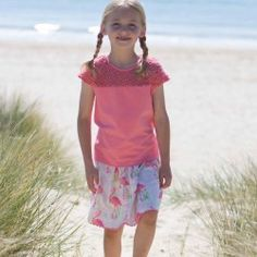 Kite Girls Reversible Flamingo Skirt (2-6 Years)