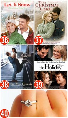 Over 50 of the Best Christmas Movies Romantic Christmas Movies Romantic Christmas Movies, Best Christmas Movies, Hallmark Christmas Movies, Hallmark Movies, Christmas Love, Christmas Holidays, Holiday Movies, Christmas Things, Christmas Ideas