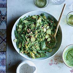 Haricots Verts and Potato Salad with Pesto | Food & Wine