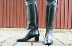 Wellies Boots, Rubber Rain Boots, Riding Boots, High Heels, Shoes, Fashion, Natural Rubber, Welly Boots, Moda