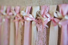 cortina de fitas!