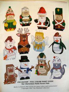 Christmas Painted Pavers