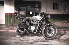McLane Thruxton Cafe Racer ~ Return of the Cafe Racers