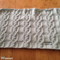 Twisted Cables Afghan | Crocheting Crazy