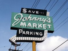 MO-St Louis County - Johnny's sign daytime by plasticfootball, via Flickr