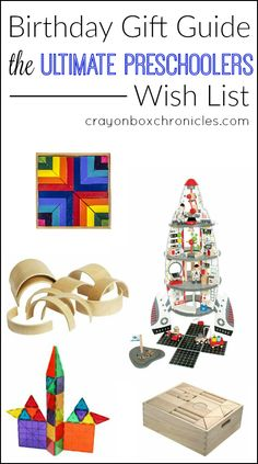 Gift Guide for Preschoolers - Toys that encourage hands-on learning and imaginative play by Crayon Box Chronicles