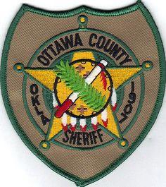 OTTAWA COUNTY SHERIFF DEPARTMENT (OKLAHOMA) POLICE/SHERIFF PATCH