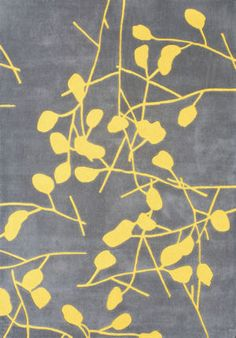 thinking about changing to these colors for the living room..yellow and grey rug from House of Area Rugs