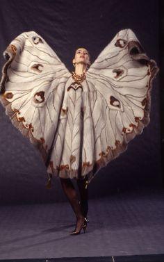 Irina Krutikova | Gallery Knitted Cape, Fur Fashion, Stylists, Furs, Knitting, Gallery, Artist, Fashion Design, Knits