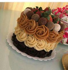 Bolo Nacked, Cake Recipes, Dessert Recipes, 30 Birthday Cake, Fall Cakes, Cake Central, Birthday Cake Decorating, Halloween Cakes, Cake Shop