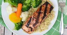 Recipe: Easy Roasted Salmon and Bok Choy   Greatist