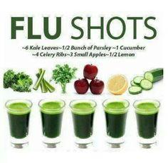 Flu shots - no needles.