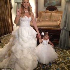 Mariah Carey And Nick Cannon Renewed Their Wedding Vows By Shutting Down Disneyland In Anaheim Photo