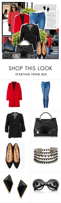 """""""definately maybe!"""" by diana1990 ❤ liked on Polyvore featuring Alexis Bittar, Forever New, Soaked in Luxury, Dolce&Gabbana, Lanvin, DANNIJO, Belle Noel by Kim Kardashian and Prada"""